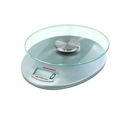 Soehnle 65856 Digitale Küchenwaage Roma silber