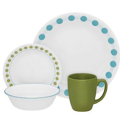 Corelle Livingware 16-Piece Dinnerware Set, South Beach, Ser