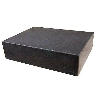 "HHIP 4401-0011 Granite Surface Plate, Grade B, Ledge 0, 12"" x 9"" x 3"" Grade: B"
