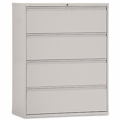 Alera Four-drawer Lateral File Cabinet 42w X 19-14d X 53-14h Light Gray