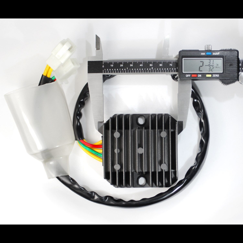 93 18 Honda Xr650l 650 31600 My6 671 Voltage Rectifier Regulator 2012 Wiring Diagram Wire Harness Vr