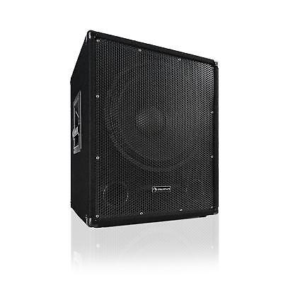 """(B-WARE) Aktiver PA Subwoofer DJ Party 600 Watt 15"""" 38 cm Bass-Lautsprecher"""