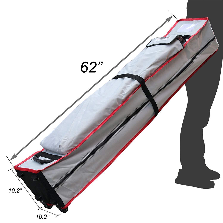 Heavy Duty Storage Delxue Wheeled Roller Bag For 10x10 Ez Po