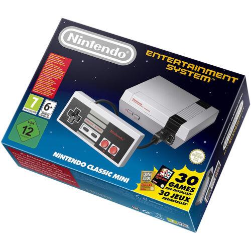 Nintendo Nes Classic Mini Eu Console, Retro Gaming, Gray