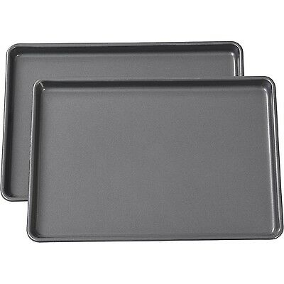 Bakeware Set Baking Pan Cake Non Stick Cookie Sheet Oven Muffin Pans NEW 2-Piece