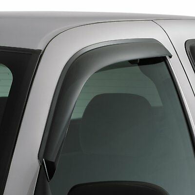 (2 Window Vent Visors 2016-2019 TACOMA ACCESS CAB Rain Guards Air Wind Deflectors)