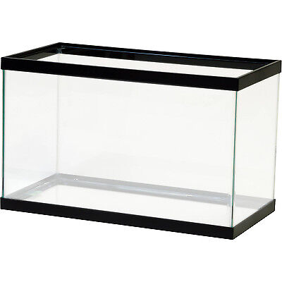Home Aquarium Tanks - 10 Gallon Fish Tank Aquarium Clear Glass Terrarium Pet Aqua Home Reptiles Fishes