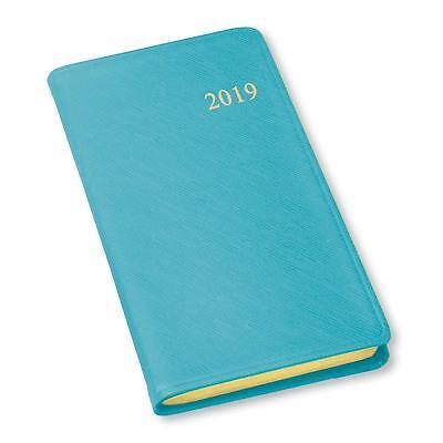 2019 Gallery Leather Monthly Weekly Pocket Planner Agenda Organizer Calendar