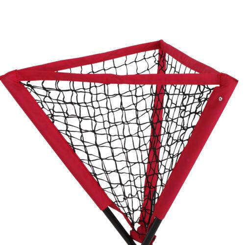 7×7′ Baseball Practice Net Thrower Strike Zone +  Tripod Stand Ball Caddy W/ Bag Baseball & Softball