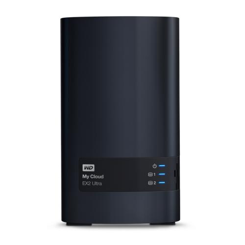 WD My Cloud EX2 Ultra NAS System 2-Bay 12TB (2x 6TB WD RED HDD)