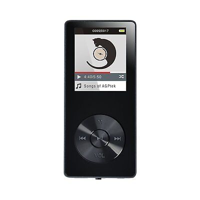 AGPTEK M07 8GB MP3 Player with Speaker Lossless Sound with FM Radio Recording