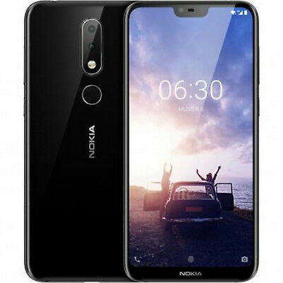 Nokia 6.1 Plus (X6) 5.8Inch 4G Phablet 6GB/64GB Dual Sim Schwarz