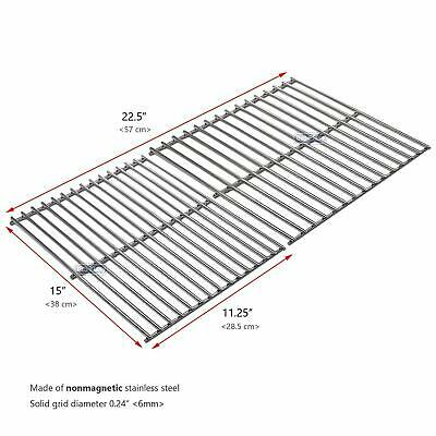 "15"" Cooking Grid Grates Replacement for Weber Spirit, Weber Genesis Grill Parts"