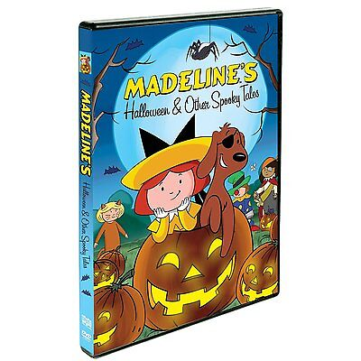 Madeline's Halloween & Other Spooky Tales (DVD, 2010)  BRAND NEW (Halloween Spooky Movies)