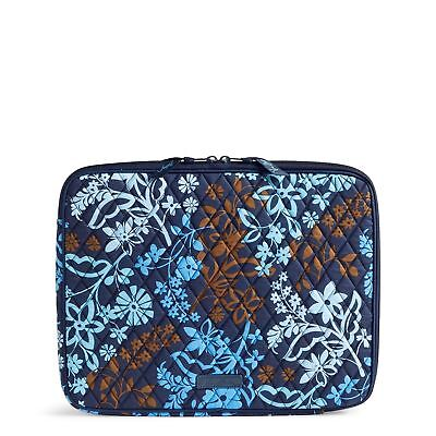 """Vera Bradley Beautiful Java Floral Padded Laptop Sleeve Fits 13"""" Mac&Dell NWT for sale  Shipping to India"""