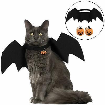 Halloween Pet Costume Bat Wings Pumpkin Cosplay Dog Costume Cat Costume For