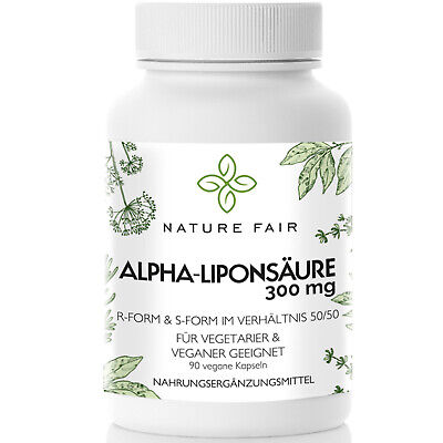 ALA (S)(R)-Alpha-Liponsäure Alpha-Lipoic Vegan 600 mg antioxidantien VEGAN