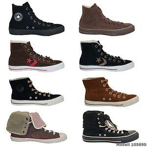 converse chuck taylor all stars zapatillas hombre mujer invierno botas nuevo. Black Bedroom Furniture Sets. Home Design Ideas