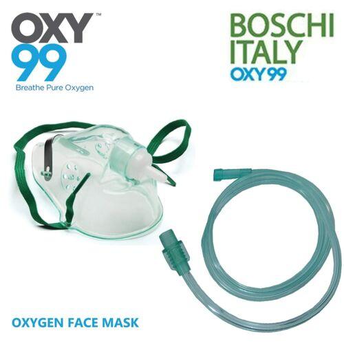 OXY99 Nubelizer Mask Kit Child & Adult Mask Face Mask - - 6 packs