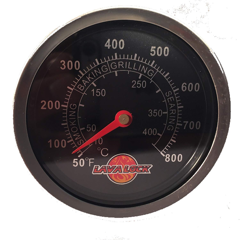 bbq temperature gauge grill pit