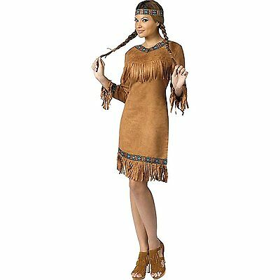Wild West Female Costumes (Wild West Native American Female Adult)