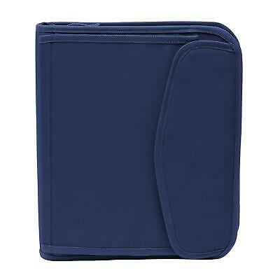 New Members Mark 3 Ring 1.5 Binder With Zippernavy Fast Free Shipping