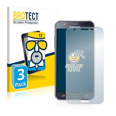 3x Protector Pantalla para Samsung Galaxy J5 2015 Cristal Mate Lamina de...