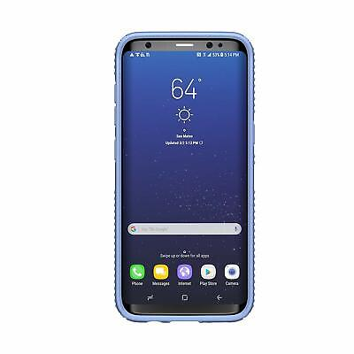 Speck Presidio Grip Cell Phone Case Samsung Galaxy S8 Marine Blue/Twilight Blue Blue Cell Phone Case