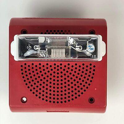 Wheelock Et70wp-2475w-fr Fire Alarm Weatherproof Speaker Strobe Wall Mount 24v