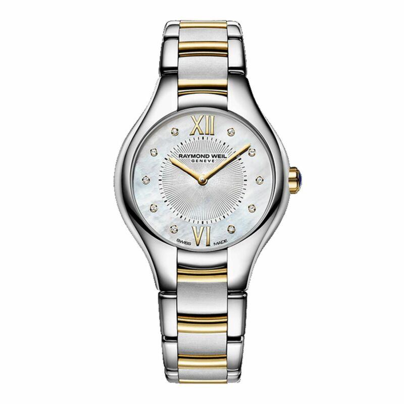 Raymond Weil 5127-STP-00985 Women Noemia Mother of Pearl Quartz Watch