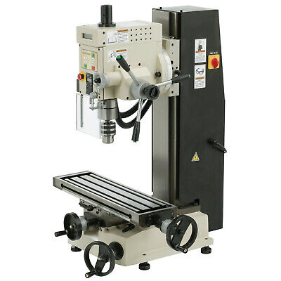 Shop Fox M1111 Variable Speed 6-inch By 21-inch Dovetail Milldrill Column X3