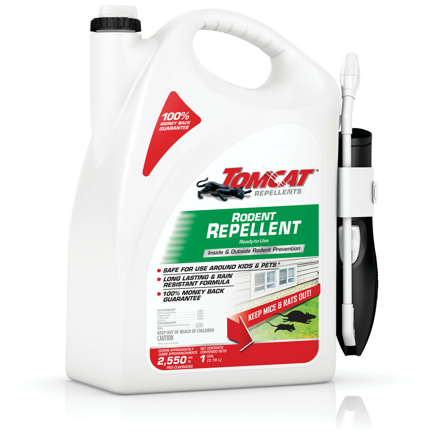 Tomcat Repellents Rodent Repellent Ready-to-Use with Comfort