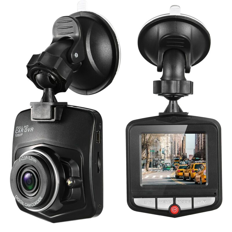 1080P Car DVR Dash Cam Vehicle Front and Rear Video Recorder Night Vision Camera