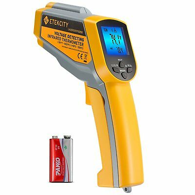 Etekcity Lasergrip 1025D Digital Dual Laser Infrared Thermometer Temperature Gun