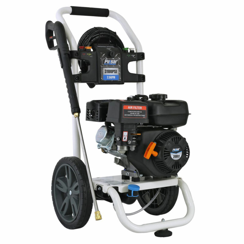 Pulsar W31H19 3,100 PSI Gas Powered Pressure Washer with Onboard Detergent Tank