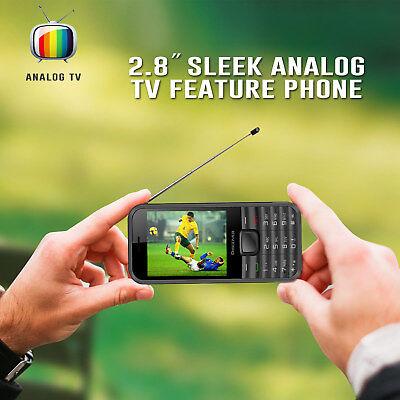 Dual SIM Antenna Analog TV Mobile Phone FM Radio Camera MP3 MP4