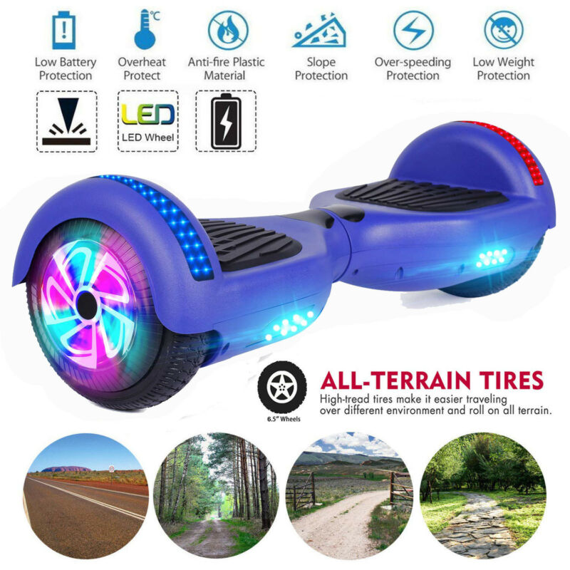 6.5 Inch Two Wheels Smart Hoverboard Electric Scooter for Ki