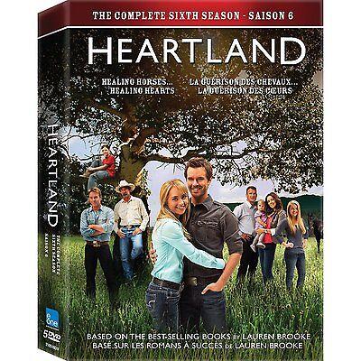 Heartland: TV Series Complete Season 6 DVD Factory Sealed ...