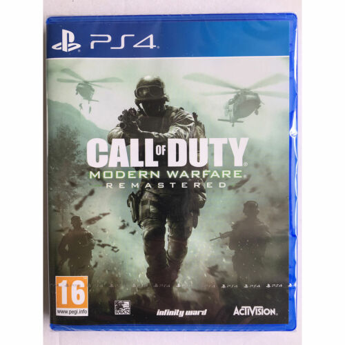 Call of Duty Modern Warfare Remastered PS4 PLAYSTATION New and Sealed