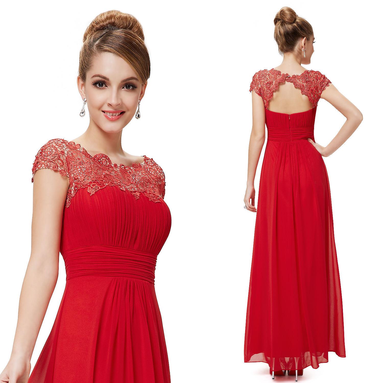 Вечернее платье с кружевом и цветами 80