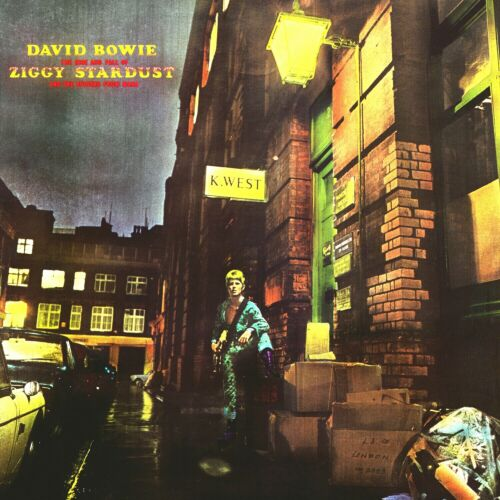 David Bowie Rise And Fall Of Ziggy Stardust 12x12 Album Cover Replica Poster