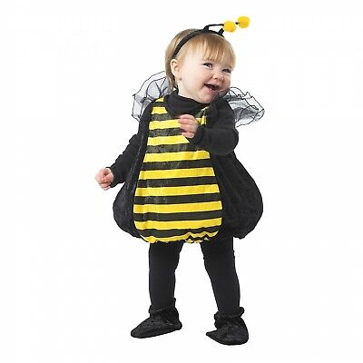Bumble Bee Halloween Dress Up Costume Child Size 1-2 Years](Bumble Bee Halloween Costume)