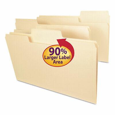 Smead Supertab Guide Height Reinforced Folders Top Tab Legal Manila 100box