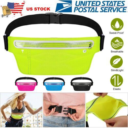 Unisex Sport Waist Pack Running Belt Bag Pouch Adjustable Bo