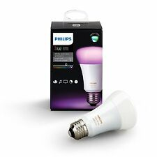 Philips Hue White and Color Ambiance 3rd Gen A19 Smart Color Changing Bulb 800LM