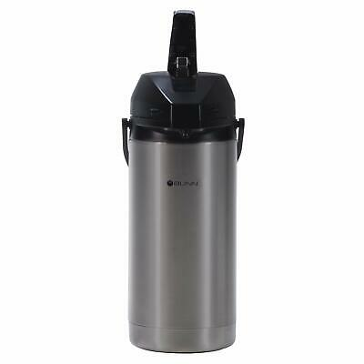 Bunn 36725 Pour Lever Action Single Coffee Airpot Stainless Steel Up To 3.8l