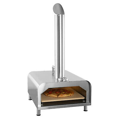 Gyber Fremont Stainless Steel Portable Outdoor Wood Fired 12 Pizza Maker Oven
