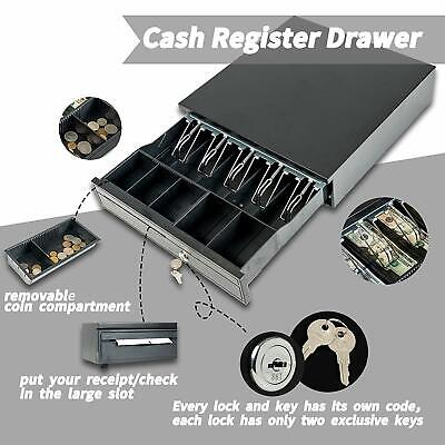 16 Money Box 5 Bill 5 Coin Cash Register Drawer Tray Epsonstar Pos Machine