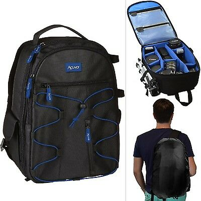 Waterproof DSLR Camera Lens Backpack Bag Case for Canon Nikon Sony Weather Cover