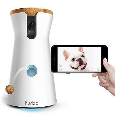 Furbo Dog Camera  Treat Tossing Full Hd Wifi Pet Camera And 2 Way Audio Desig